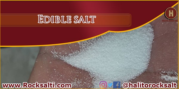 supply edible salt