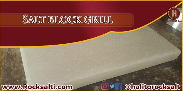 salt block grill