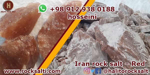 Iran rock salt Production