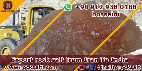 Red rock salt for export