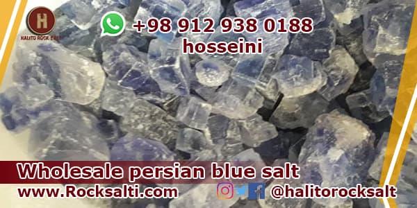 iran blue rock salt