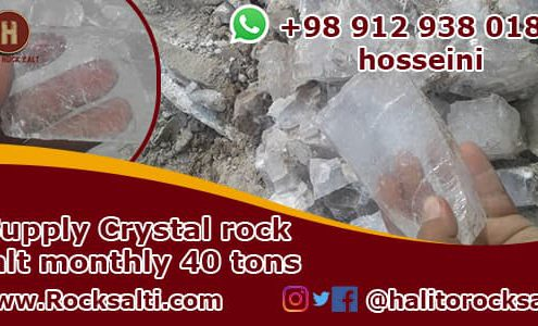 iran crystal rock salt