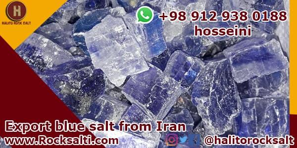 blue salt in Iran