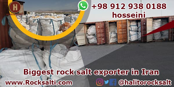 Iran rock salt exporter