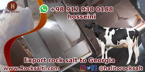Supply of livestock rock salt
