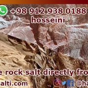 Red rock salt