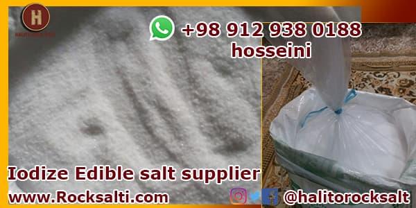 edible salt factory