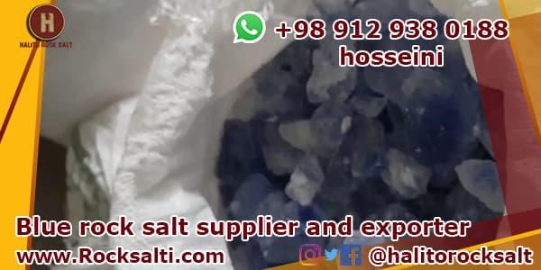 persian blue rock salt